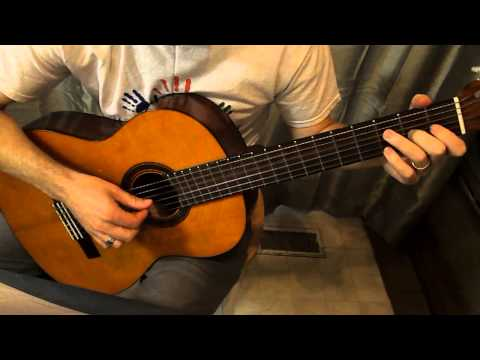 Come Follow Me LDS Hymn Instrumental Guitar Solo
