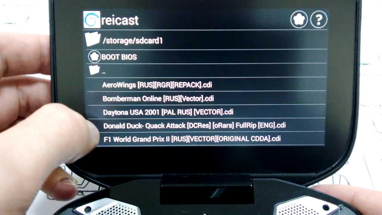 NVIDIA Shield - REICAST - Dreamcast emulator