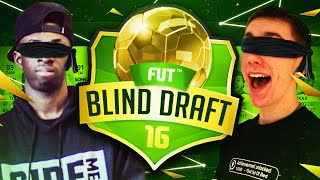 BLIND FUT DRAFT WITH SIMON! | FIFA 16 Ultimate Team