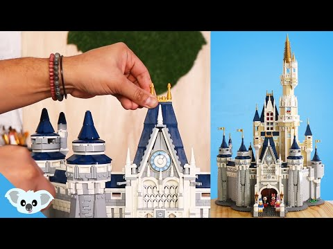 Lego Disney Castle - Lego 71040 The Disney Castle Speed Build