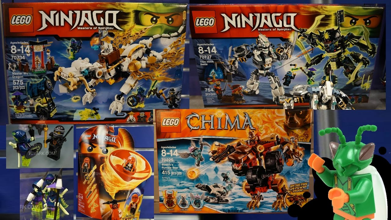 LEGO Ninjago and Chima Summer 2015 at the NY Toy Fair - My