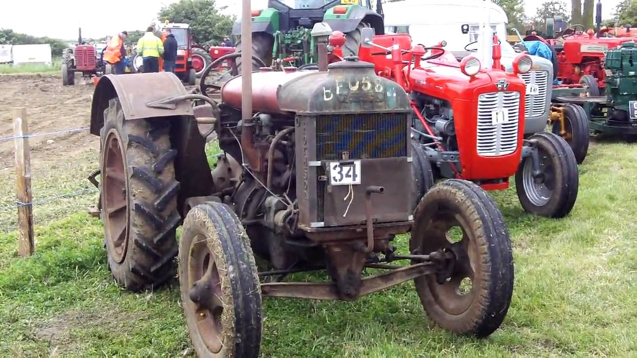 1940s Tractor Repair Signs : Old tractor interview fordson model n youtube