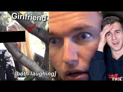 Ukranian Man Can't Stand Cheating Girlfriend