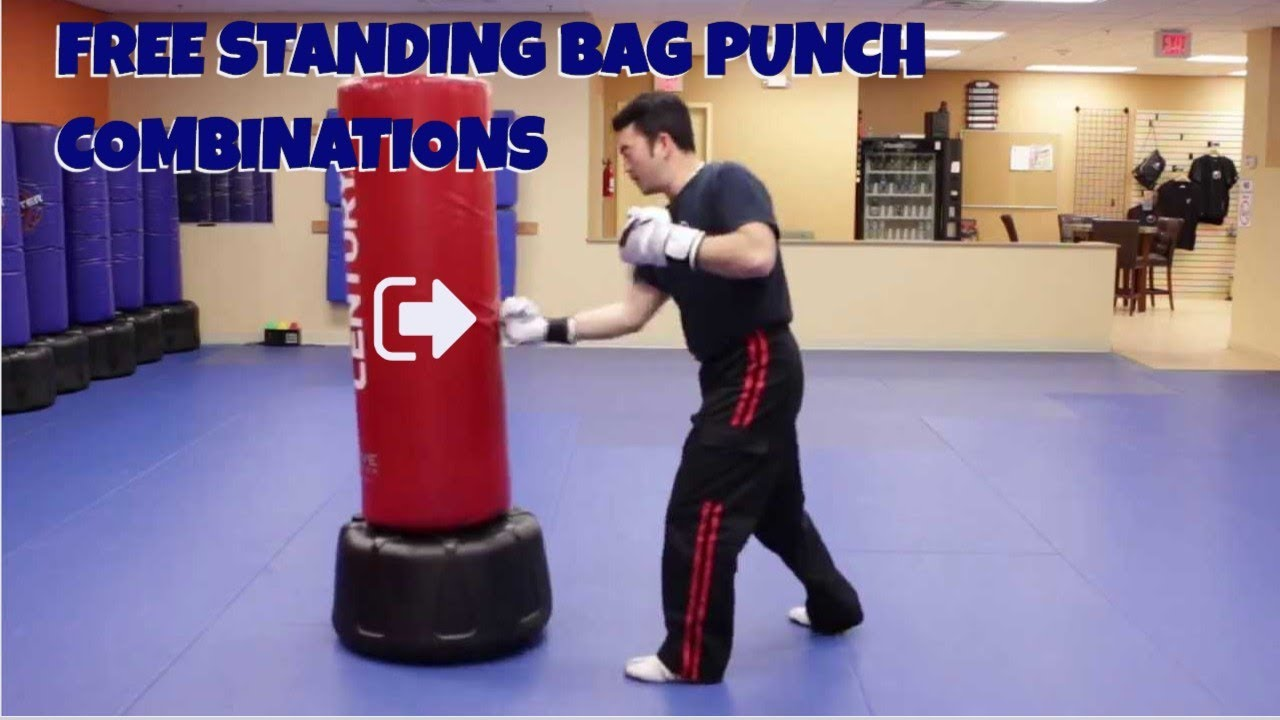 Freestanding Bag Punch Combinations Youtube