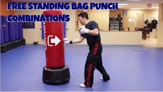 Freestanding Bag Punch Combinations