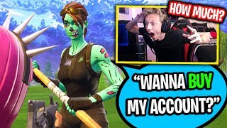 SCAMMER INTENTA VENDER ME RARE GHOUL TROOPER CUENTA EN FORTNITE! (Lo atrapé LYING...)