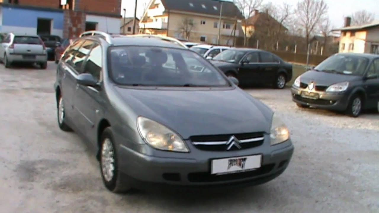 2002 citroen c5 break 2 2 hdi automatik review start up engine and in depth tour youtube. Black Bedroom Furniture Sets. Home Design Ideas