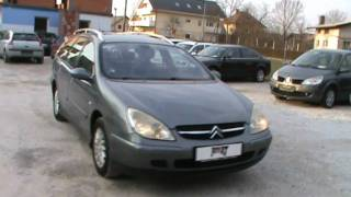 2002 Citroen C5 Break 2.2 HDi automatik Review,Start Up, Engine, and In Depth Tour