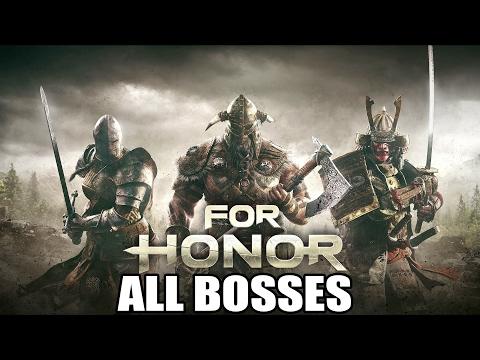 For Honor All Bosses