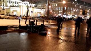 Уличные музыканты - Питерский вечер ,  Сенная пл.