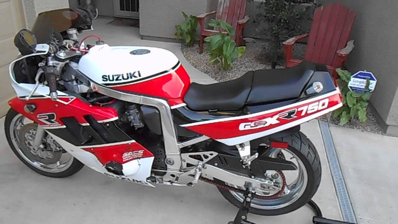1990 Suzuki Gsxr 750 For Sale In Chandler Az Youtube