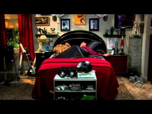 Sheldon ist krank (The Big Bang Theorie)