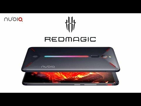 مواصفات وسعر هاتف ZTE nubia Red Magic المخصص للألعاب