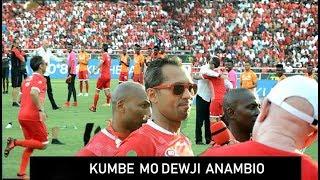 Mo Dewji na Manara Washindwa Kujizuia Wakimbia sana Uwanjani kwa shangwe