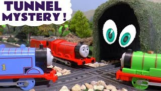 Thomas and Friends Toy Trains Tunnel Echo Game with the funny Funlings - Fun story for kids TT4U