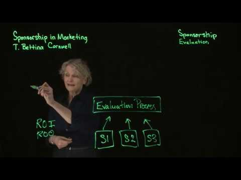 Sponsorship Evaluation - Sponsorship in Marketing Cornwell