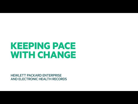 The future of healthcare; Keeping pace with change in electronic healthcare records applications.