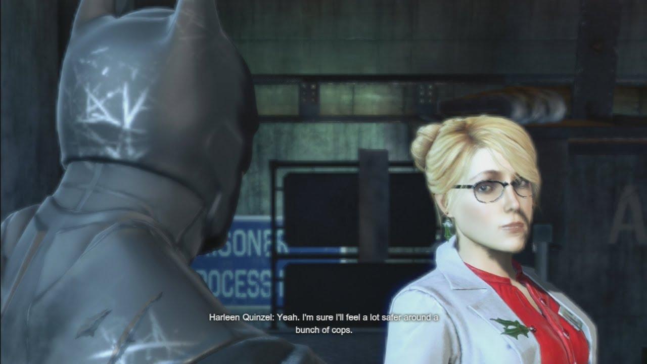 Download Batman Arkham Origins - Batman Meets Harley Quinn (Harley Quinzel)