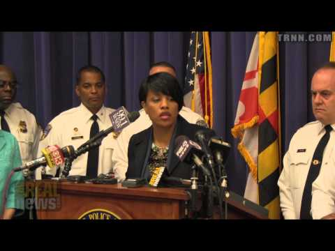 Baltimore Mayor and Police Commissioner Unveil Supposed Action Plan to Reduce Police Brutality