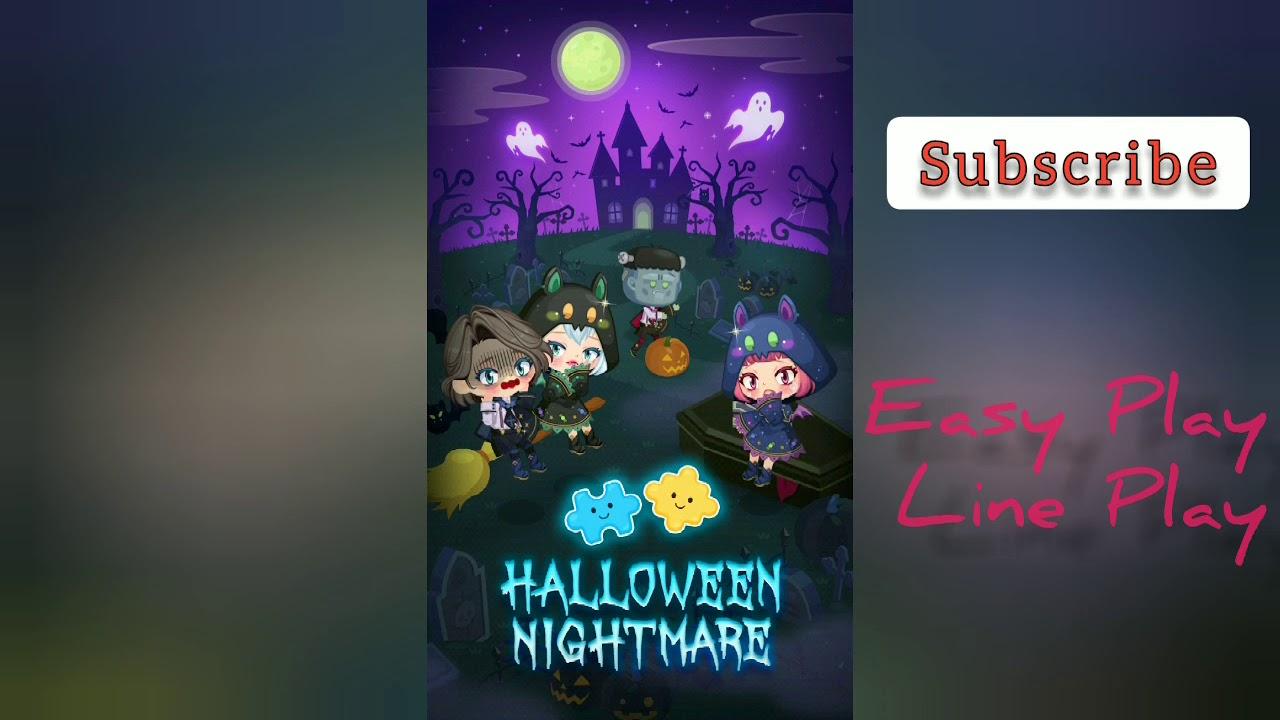 Lineplay Halloween 2020 NEW] Circle Gacha Halloween Nightmare LINE PLAY   YouTube