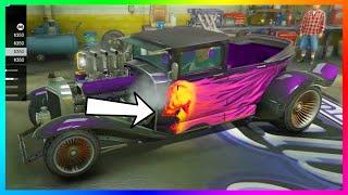 "GTA 5 DLC ""Halloween"" Cars Albany Lurcher & Franken Stange Customization + More Details! (GTA 5)"