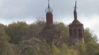 Руины Георгиевской церкви. Калуга.