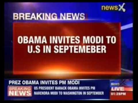 Barack Obama invites Narendra Modi to visit U.S.