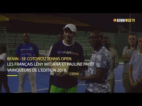 Bénin - 5e Edition Cotonou Tennis Open: les français Lény Mitjana et Pauline Payet vainqueurs