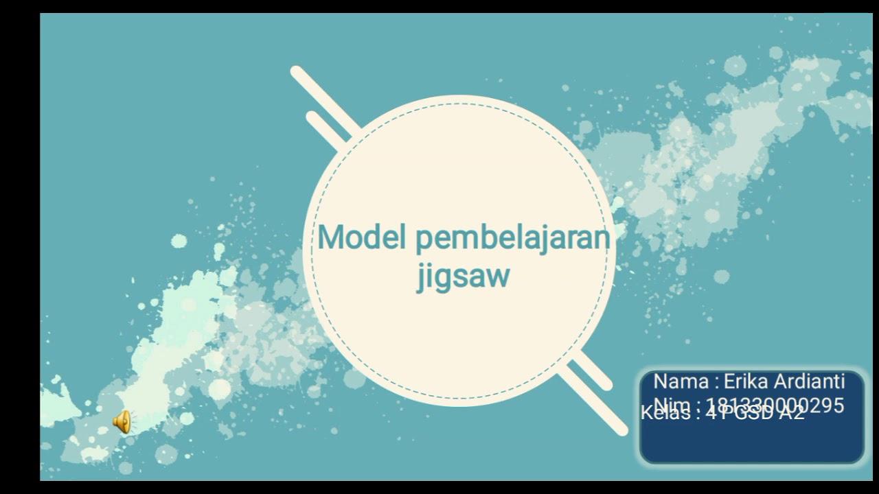 Model pembelajaran jigsaw - YouTube