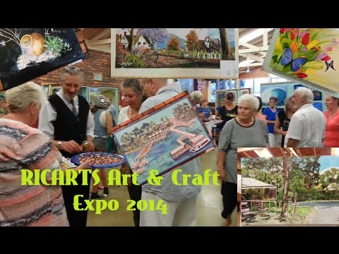 RICARTS Art and Craft Expo 2014 on the Bay Islands, Qld