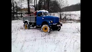ГАЗ 63 с двигателем ЗМЗ-402.