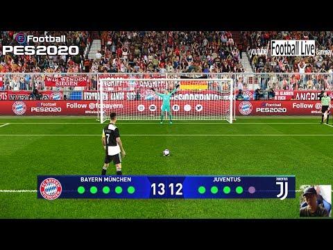 PES 2020 | Bayern Munich vs Juventus | Penalty Shootout | UEFA Champions League | Gameplay PC