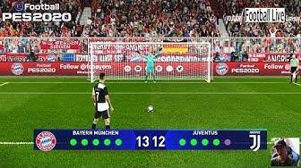 PES 2020   Bayern Munich vs Juventus   Penalty Shootout   UEFA Champions League   Gameplay PC
