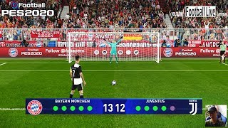 PES 2020 | Bayern Munich vs Juventus | Penalty Shootout | UEFA Champions League | Gameplay PC