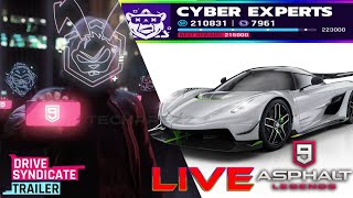 Asphalt 9 Gameplay: Jesko Event-Cyber Experts Missions, Class C Multiplayer, Events And More🔥🔥🔥