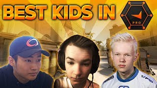 BEST KIDS IN FPL 16 years or younger Best CS GO PRO KIDS