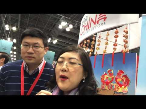NYT Travel Show 2017 with @VisitChinaNow with Sonny Wang