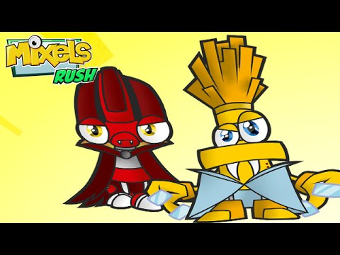 Mixels Rush: Full Gameplay All Levels All Secret Levels unlocked - Cartoon Network Games