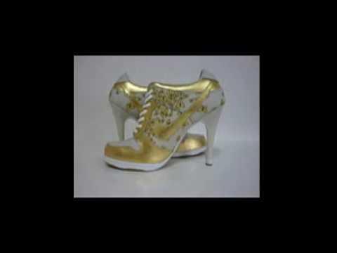 0b96387143aff Zapatos Nike de taco.wmv - YouTube