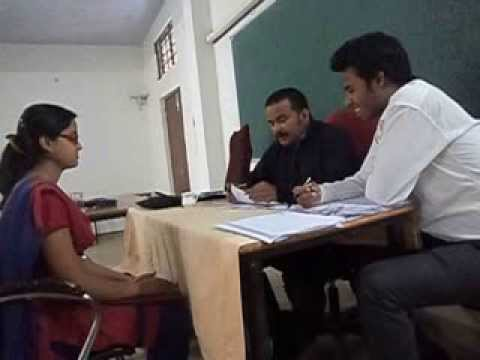 Live Interview Of Sonali Singh In Globul infotech Campus Drive held in CEC, Durg