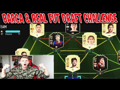 FC Barcelona Wer gewinnt die REAL MADRID vs. FC BARCELONA Fut Draft Challenge? - Fifa 20 Ultimate Team