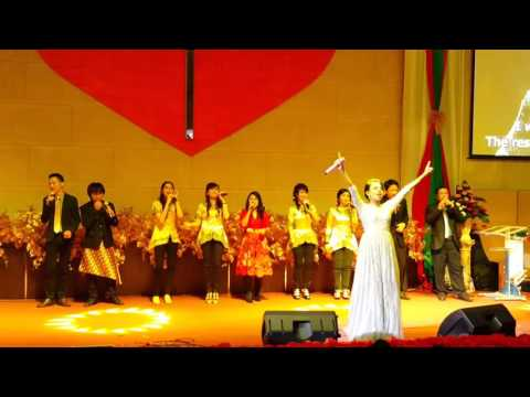 [Sunday Service] Nowela Indonesian Idol - In Jesus Name - Natal Gspdi Filadelfia Cirebon 2016