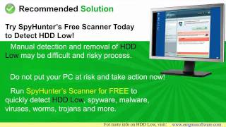 How to Detect and Remove HDD Low