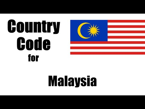 Malaysia Dialing Code - Malaysian Country Code - Telephone Area Codes In Malaysia
