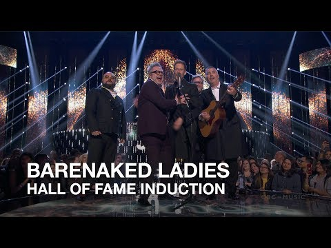 Barenaked Ladies | Hall of Fame Induction | Juno Awards 2018