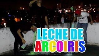 Milk Rainbow Challenge | Reto Leche de Arcoiris. - Felipe Ardila
