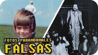 5 FOTOS PARANORMALES FAMOSAS QUE EN REALIDAD SON FALSAS (NORMALES)