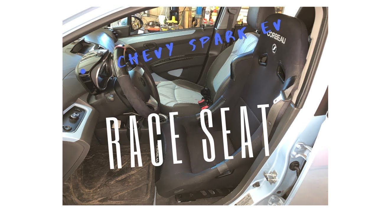 Chevy Spark Ev Aftermarket Race Seat Custom Install