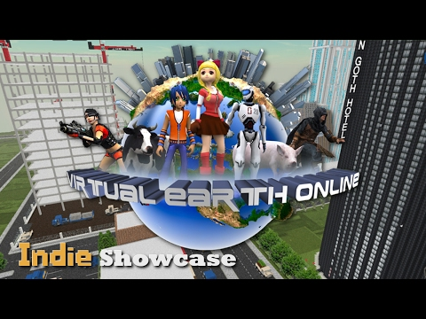 Virtual Earth Online: Your House is in Minecraft! - Indie Showcase