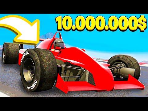 LA NUOVA AUTO DELLA FORMULA 1 DA 10.000.000$! - GTA 5